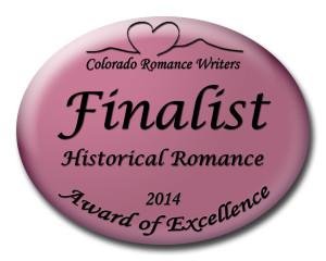 Historical Romance Finalist Medallion