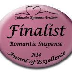 Romantic Suspense Finalist Medallion